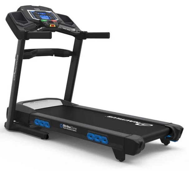 Nautilus T626 Treadmill - side view