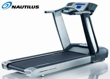 Nautilus T916 treadmill - side view