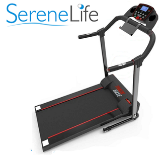 SereneLife SLFTRD18 Folding treadmill - side view