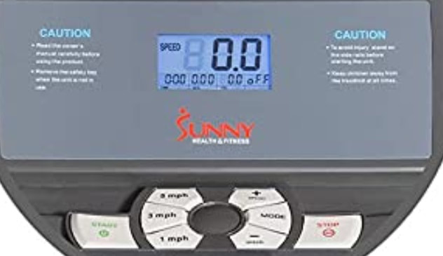 Sunny Health & Fitness T-7643 console
